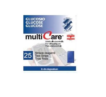 Multicare glucosio 25str