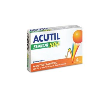 Acutil multivitsenior50+24cp