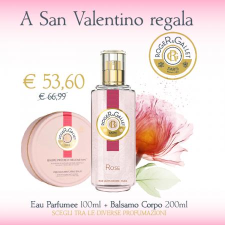 Roger&Gallet: Eau Parfumee + Balsamo Corpo