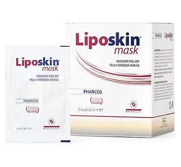 Liposkin mask pharcos 15 bustine