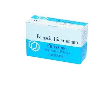 Potassio bicarbpuriss 100 bustine