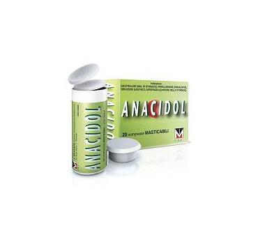 Anacidol 20 compresse mast tubo