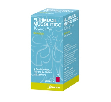 Fluimucil mucolscir100mg/5ml