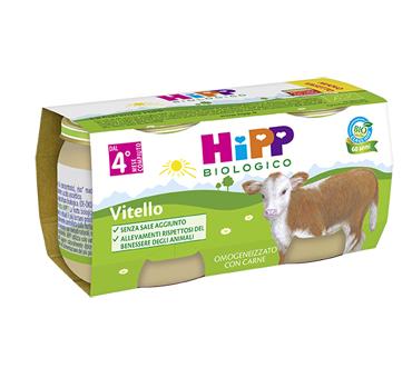 Hipp bio omog vitello 2x80g