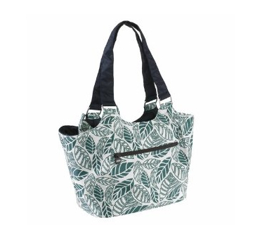 Ch borsa shopper blu/verde