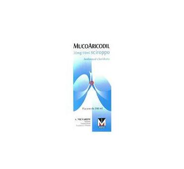 Mucoaricodil sciroppo 600mg200ml