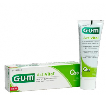 Gum activital dentifricio gel75ml