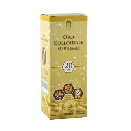 Oro colloidale supremo 20ppm